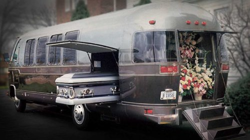 Airstream Funeral Coach Escape Room Is A Creepy RV You Can Buy