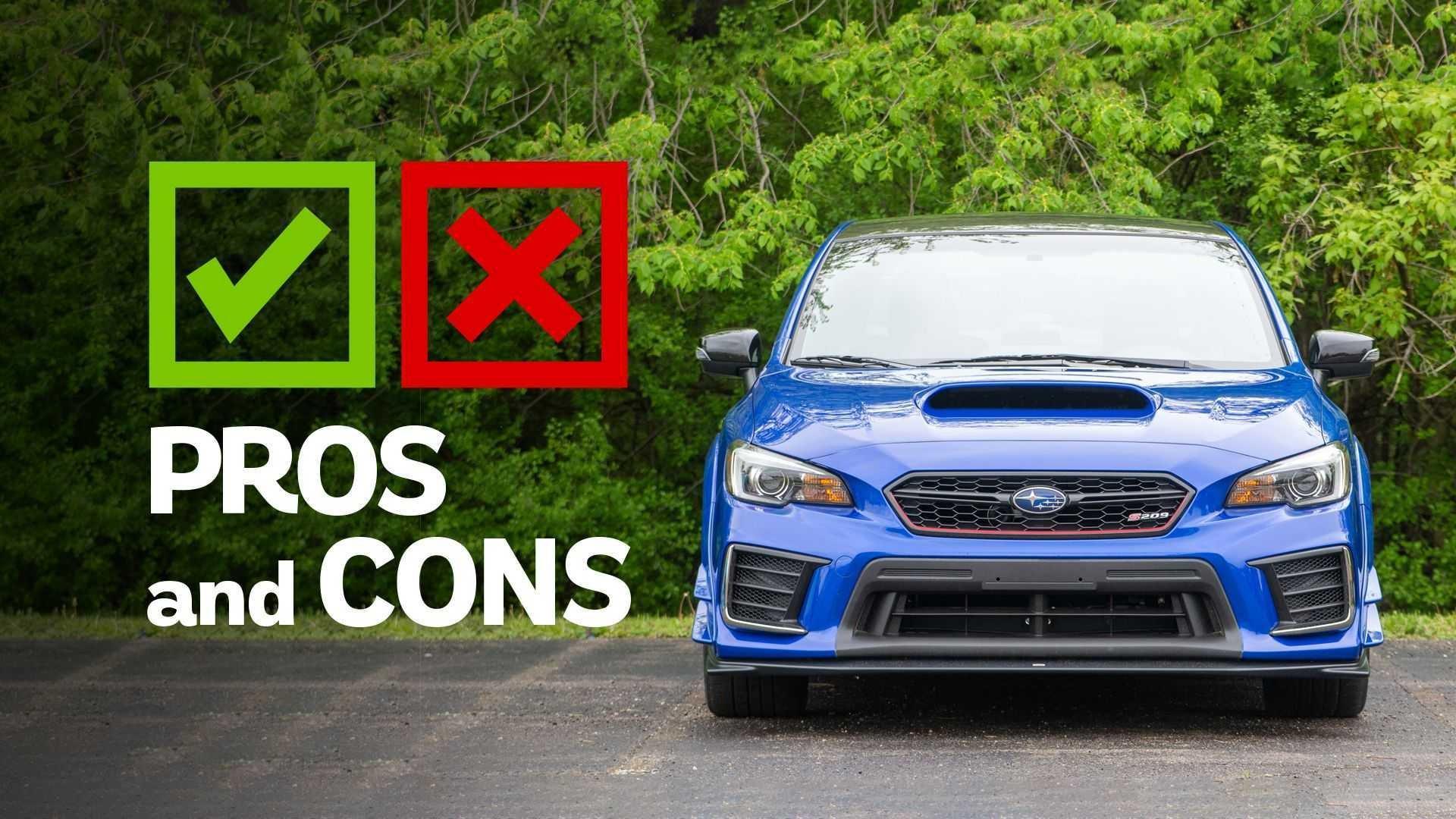 2019 Subaru STI S209: Pros And Cons