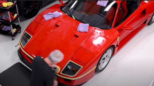Here's Why You Can't Be A Hero When Detailing A Ferrari F40