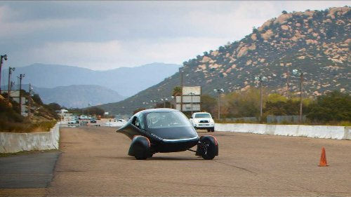 Aptera's EV Can Go From 0 to 60 Mph In Less Than 3 Seconds