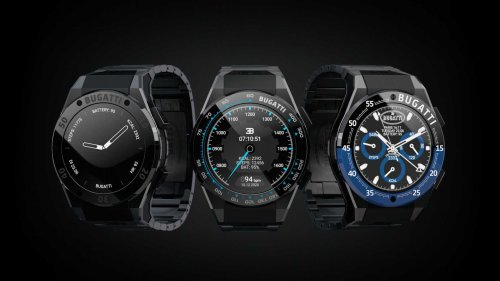 Bugatti debuts new line of smartwatches that are actually affordable