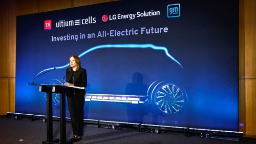Official: GM And LG Energy To Build 2nd Ultium Battery Cell Plant