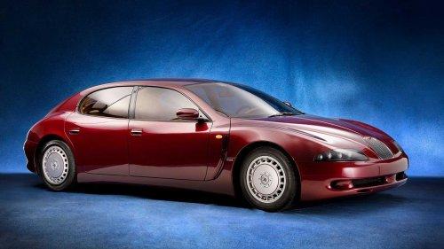 Unuttuğumuz Konseptler: 1993 Bugatti EB112