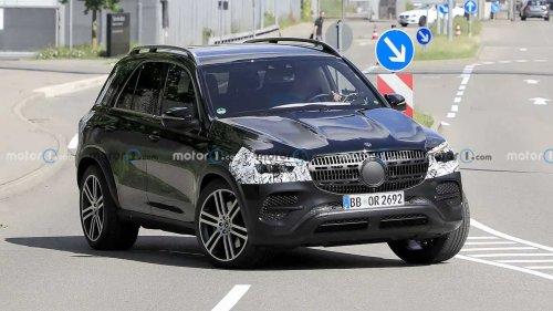 Mercedes GLE, le prime foto spia del restyling