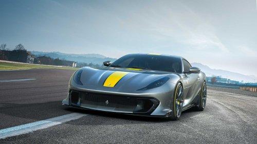 Ferrari 812 Versione Speciale hat 830 PS und irrsinnige Drehzahlen