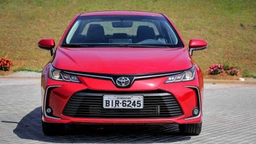 Corolla vendeu em março quase o dobro do que concorrentes somados