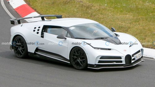 Bugatti Centodieci Spied At Nurburgring Ahead Of 2022 Deliveries