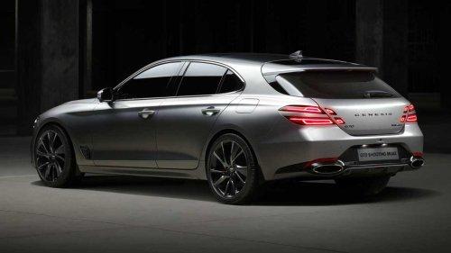 Genesis G70 Shooting Brake Debuts To Beautify Euro Wagon Segment