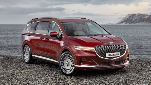 Genesis Minivan Rendered As The Anti-SUV, But Should It Happen?