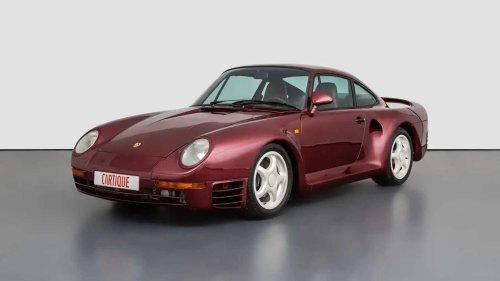 Rare Porsche 959 prototype for sale has a rich history