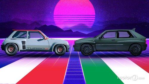 Renault 5 Turbo 3 vs Delta Futurista - Duel du 3e millénaire