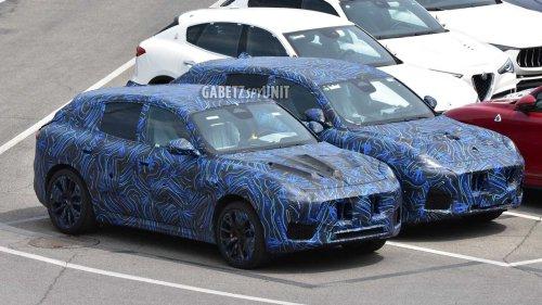 2022 Maserati Grecale SUV returns in best spy photos to date