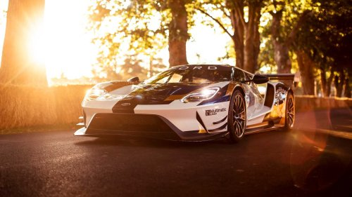 Ford GT send-off model may include roof scoop, wing vents