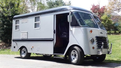 Aluminum Delivery Van From The '50s Gets Second Life As Sweet RV