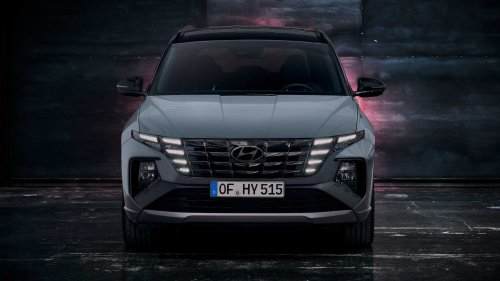 Sporty-looking Hyundai Tucson N Line hybrids come in at £35k