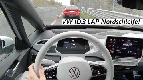 Watch a brisk VW ID.3 POV Nurburgring drive
