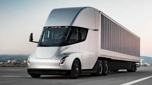 Tesla building out Megacharger for Tesla Semi at Gigafactory