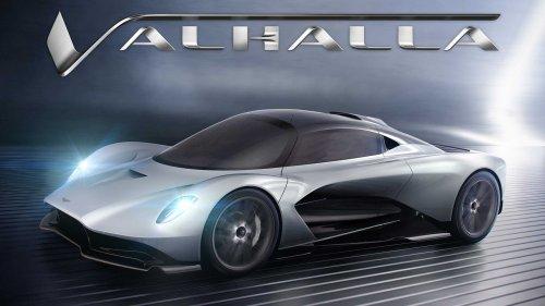 Aston Martin Valhalla und Vanquish wechseln auf AMG-V8