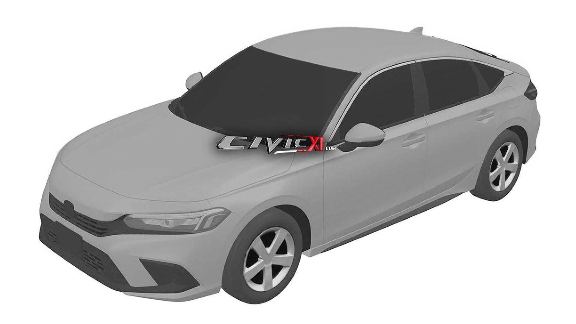 Next-Gen Honda Civic Hatchback Design Leaked In Trademark Filing