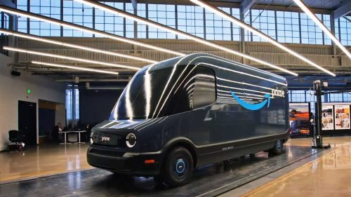 Rivian Electric Van Begins Delivering Amazon Packages In Oklahoma