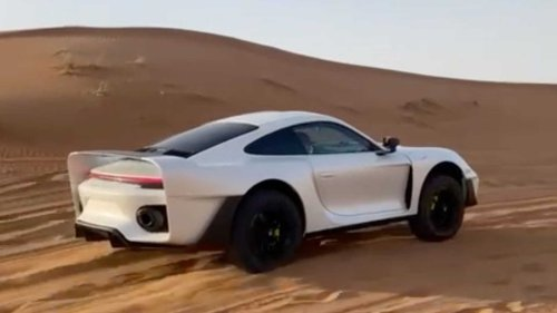 First official video of Marc Gemballa's off-road Porsche 911 project
