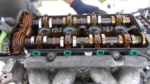 Voilà le moteur d'une Toyota Prius de presque 500 000 km