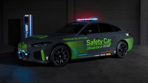 The i4 M50 Becomes BMW M's First All-Electric Safety Car