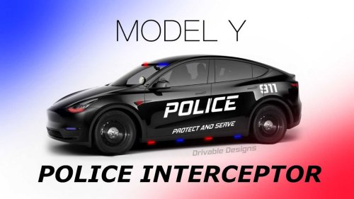Should Police Cruisers Be Fully Electric Cars? Is It Economical?