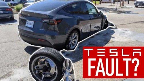 Watch Tesla Model Y owner wreck car, attempt to blame Tesla