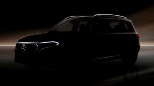 Mercedes Teases Boxy EQB All-Electric Crossover For First Time