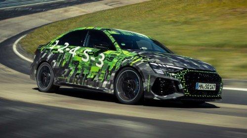 Record pour l'Audi RS3 Berline sur le Nürburgring