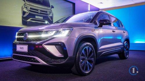 Volkswagen Taos (2021): Live-Bilder des neuen SUVs