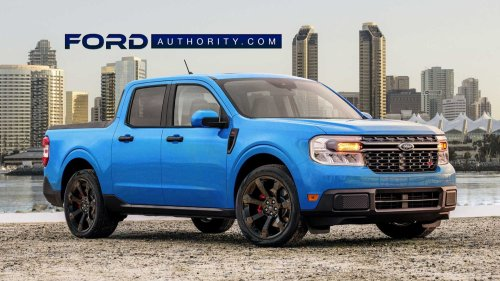Ford Maverick ST Unofficial Rendering Depicts A Sweet Street Truck