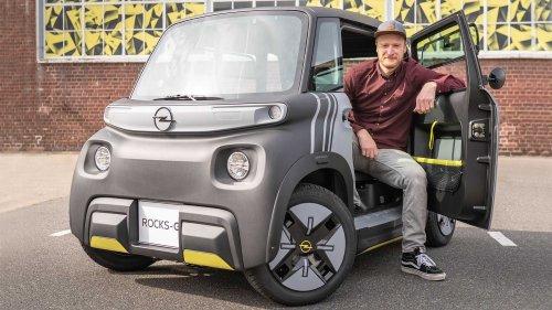 Opel Rocks-e (2021): Erste Sitzprobe im Elektro-Winzling