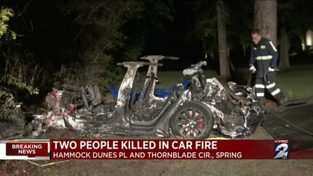 NHTSA Will Investigate Fatal Tesla Crash With No Driver In Texas