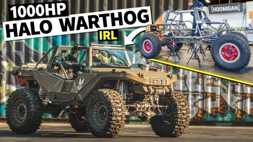 1,000-Horsepower Halo Warthog Is Real And It's Spectacular