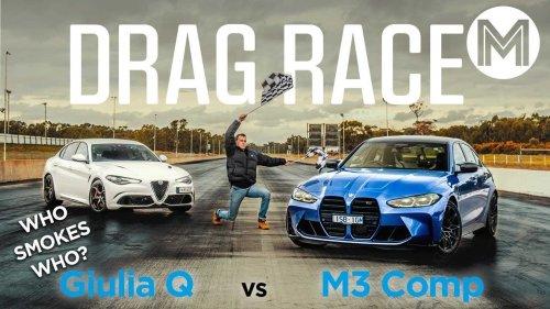 Vidéo - La BMW M3 affronte l'Alfa Romeo Giulia QV