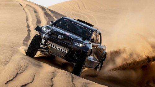 Hardcore Toyota Hilux With Land Cruiser Power Unveiled For Dakar