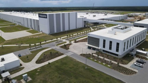 Volvo Invests $118 Million In South Carolina To Produce New EVs