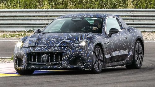 Maserati release first teasers of all-new 2022 GranTurismo