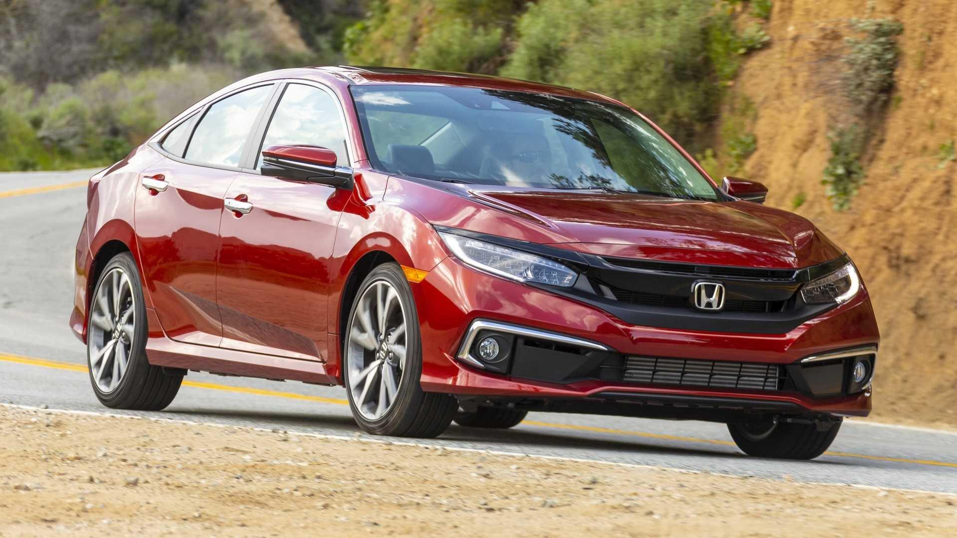 Honda Civic Sedan Loses Manual Transmission For 2021
