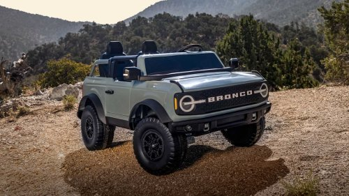 Ford Bronco Ride-On Toy By Kid Trax Will Cause Playground Envy