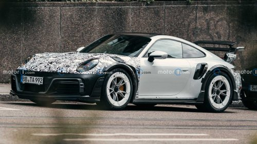 Techart GTstreet R Porsche 911 Spy Shots Show Off Wild Styling