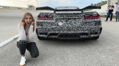 2023 Chevy Corvette Z06 Exhaust Sounds Ferocious In New Teaser Videos