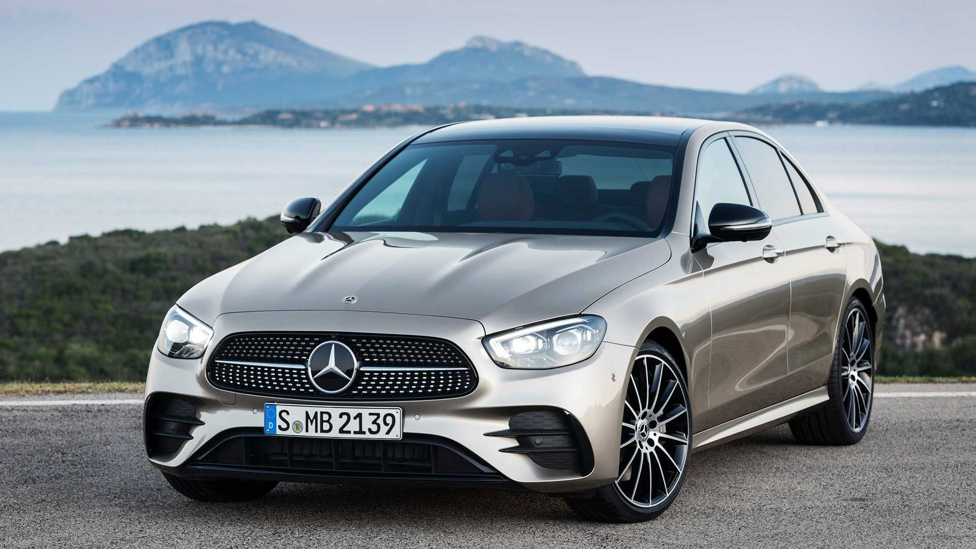 Refreshed 2021 Mercedes-Benz E-Class Starts At $54,250, E63 At $107,500
