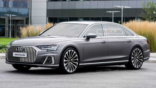 High-End Audi A8 Horch Takes Shape In Unofficial Renderings
