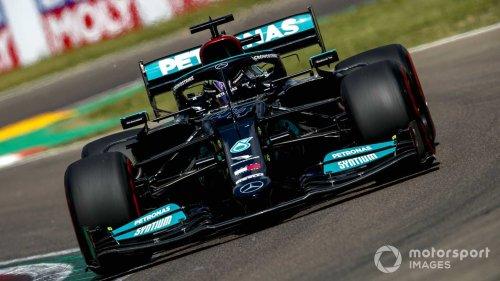 Emilia Romagna GP: Hamilton beats Perez, Verstappen to pole