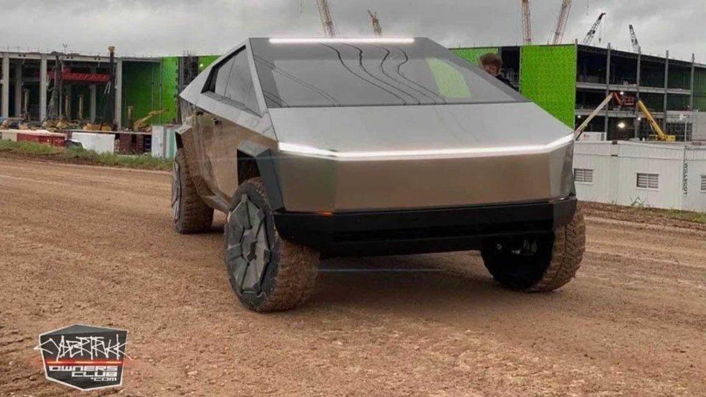 Tesla Cybertruck - cover