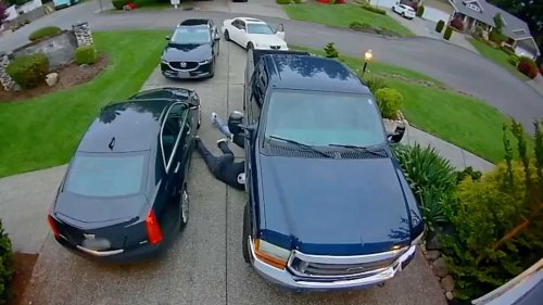 Watch how quick thieves can steal your car's catalytic converter