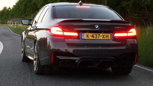 BMW M5 CS Devours The Autobahn In Ludicrous Acceleration Test